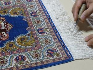 絨毯額装(縫付)-001